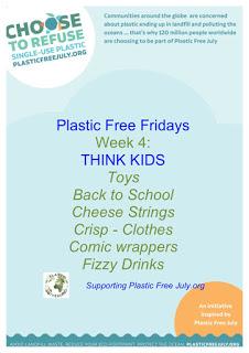 Plastic Free July - Kids